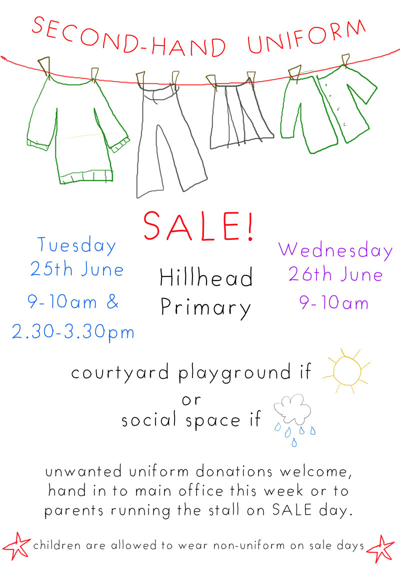 Hillhead primary school glasgow second hand uniform sale for Second hand ohrensessel
