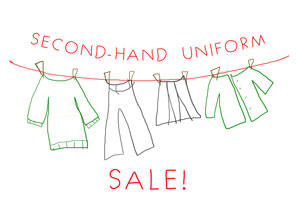 Second Hand Uniform Sale!