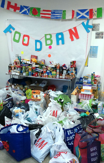 Maryhill Foodbank Collection